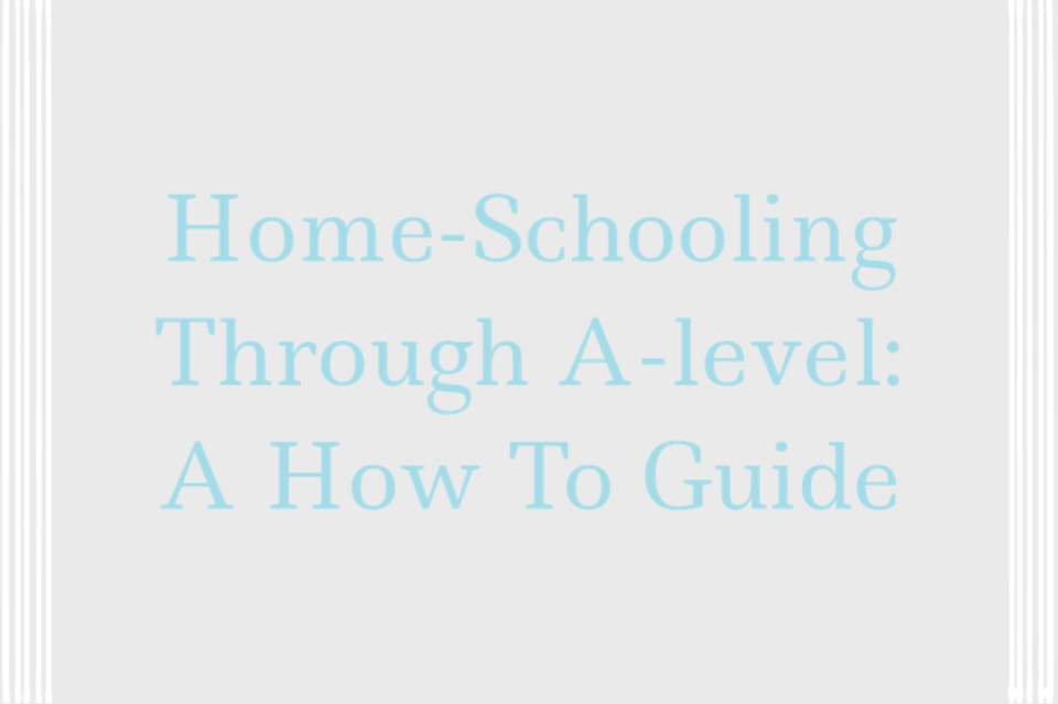 Home-schooling at A-Levels?