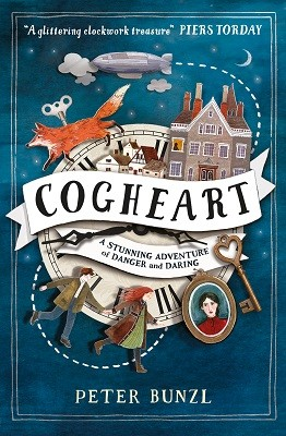 cogheart Peter Bunzl Typewritered