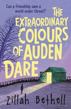 The Extraordinary Colours of Auden Dare_COVER ART